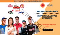 Se Apertura plazas disponibles a nivel nacional - NG Restaurants