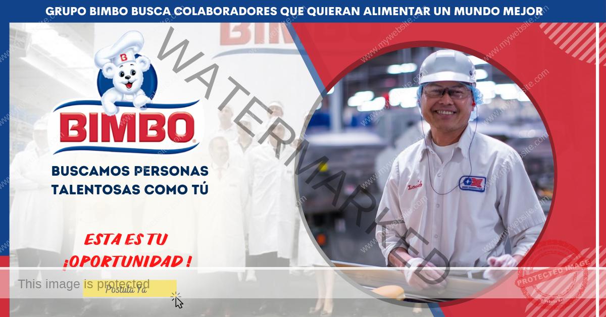 Esta es tu oportunidad BIMBO - Únete a la actual convocatoria - Convocatoria de Empleos